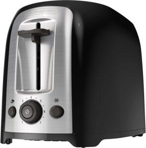 Black + Decker 2-Slice Toaster